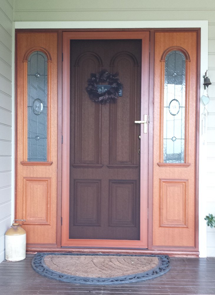 1000 images about screen doors on pinterest insects for Front door with screen window